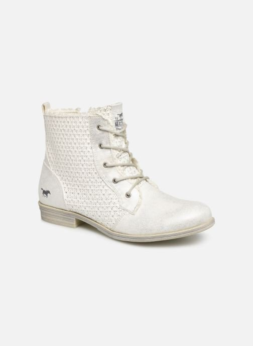 Bottines et boots Mustang shoes Ewenn Blanc vue détail/paire