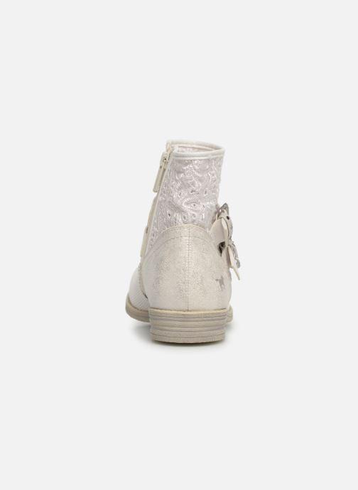 Bottines et boots Mustang shoes Iria Blanc vue droite