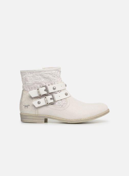 Bottines et boots Mustang shoes Iria Blanc vue derrière