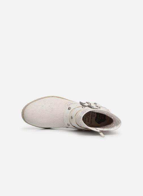 Bottines et boots Mustang shoes Iria Blanc vue gauche