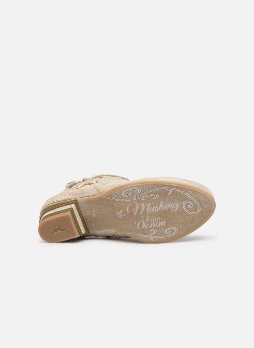 Stivaletti e tronchetti Mustang shoes Talha Oro e bronzo immagine dall'alto