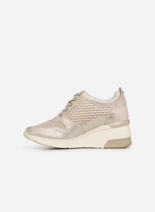 Baskets Mustang shoes Aelia Or et bronze vue face
