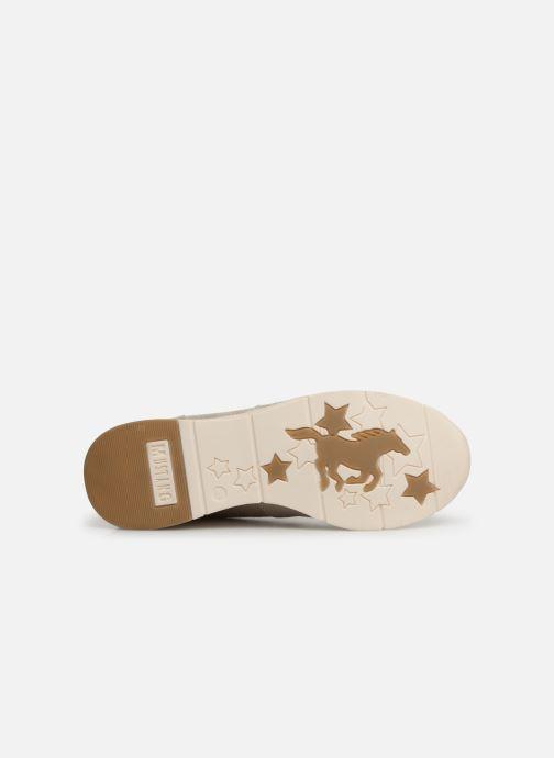 Sneakers Mustang shoes Aelia Oro e bronzo immagine dall'alto