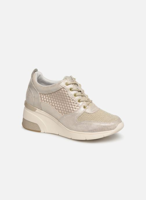 Baskets Mustang shoes Aelia Or et bronze vue détail/paire