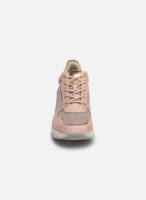 Baskets Mustang shoes Diaka Rose vue portées chaussures
