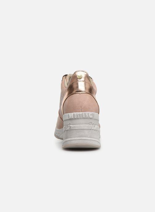 Baskets Mustang shoes Diaka Rose vue droite