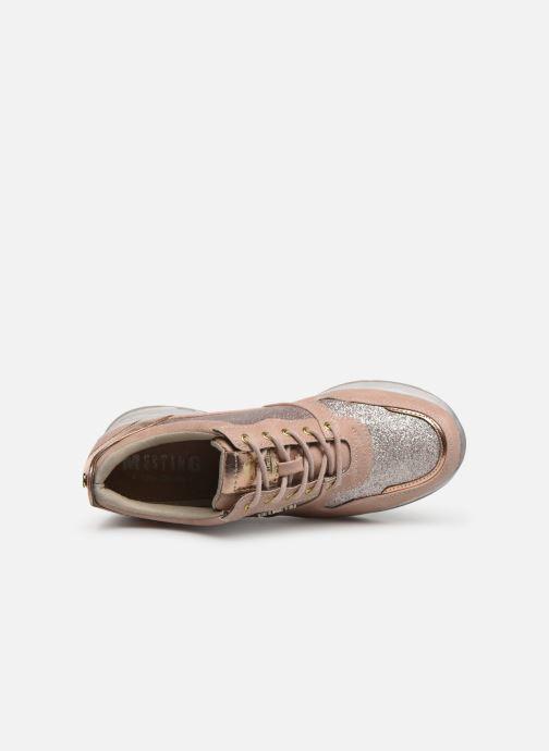 Baskets Mustang shoes Diaka Rose vue gauche