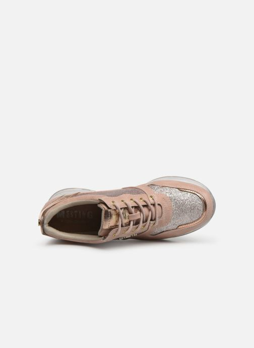 Baskets Mustang shoes Diaka Rose vue gauche