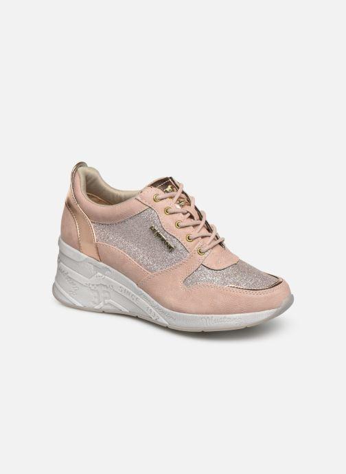 Baskets Mustang shoes Diaka Rose vue détail/paire