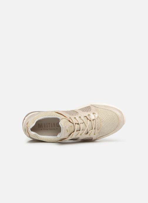 Baskets Mustang shoes Kyana Or et bronze vue gauche
