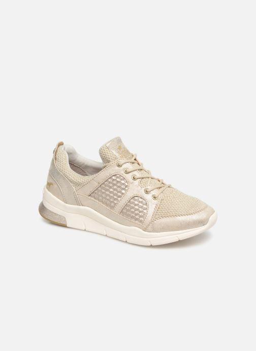 Baskets Mustang shoes Kyana Or et bronze vue détail/paire