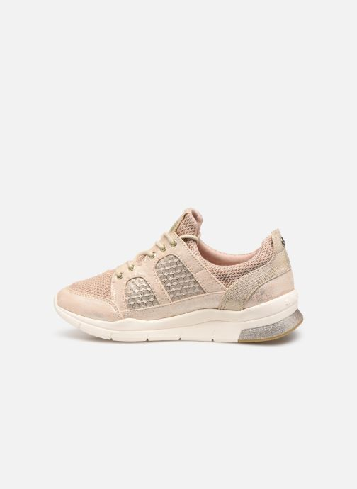 Baskets Mustang shoes Kyana Beige vue face