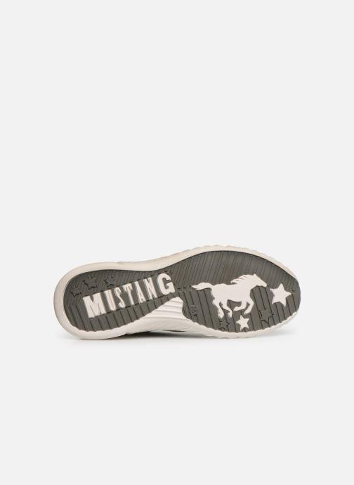 Baskets Mustang shoes Mellie Gris vue haut