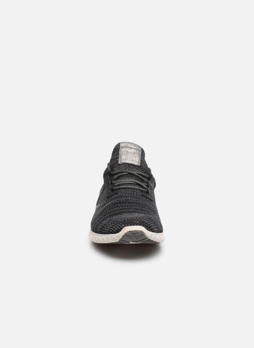 Baskets Mustang shoes Mellie Noir vue portées chaussures