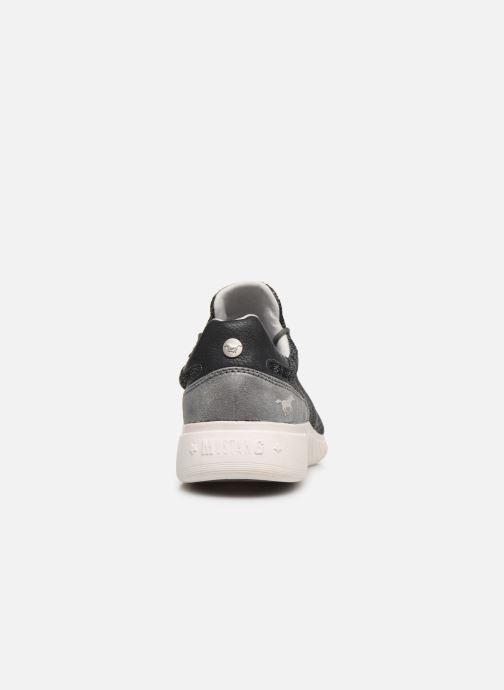 Baskets Mustang shoes Mellie Noir vue droite
