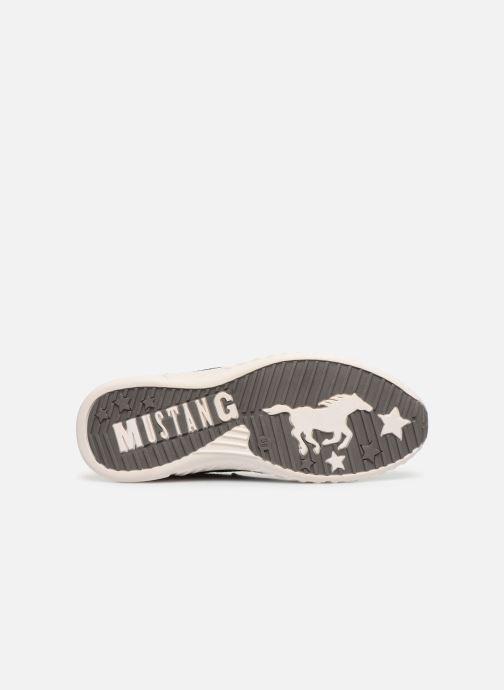 Baskets Mustang shoes Mellie Noir vue haut