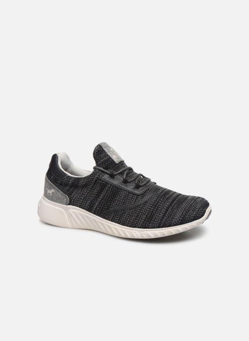 Baskets Mustang shoes Mellie Noir vue détail/paire