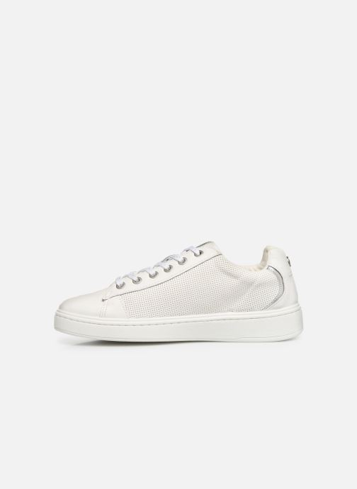 Baskets Mustang shoes Kecy Blanc vue face
