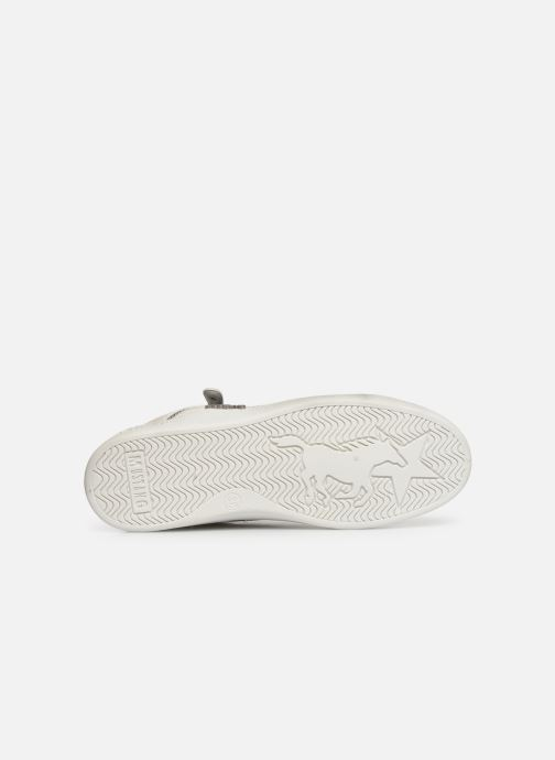 Baskets Mustang shoes Kecy Blanc vue haut