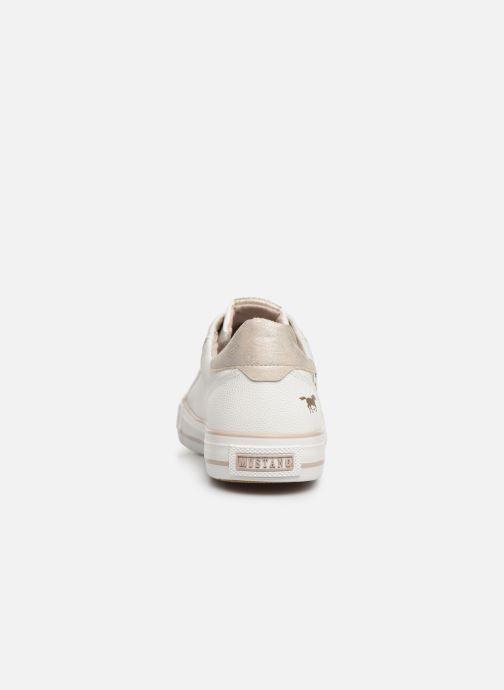 Sneaker Mustang shoes Hosna weiß ansicht von rechts