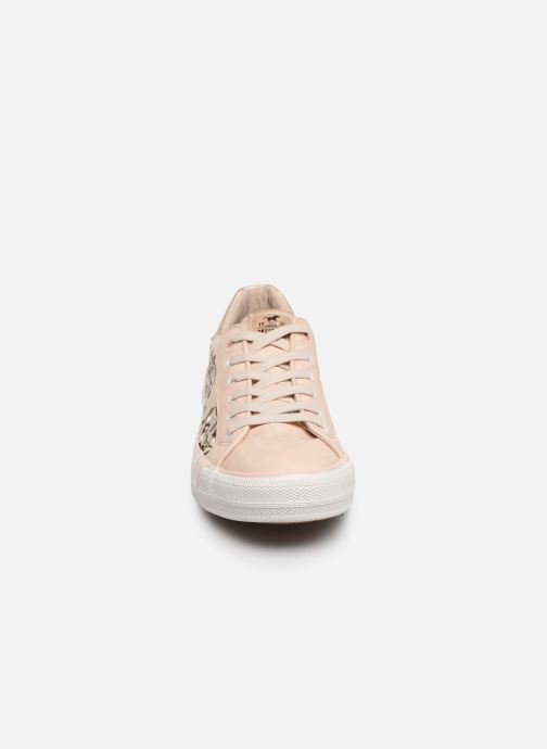 Trainers Mustang shoes Hosna Beige model view