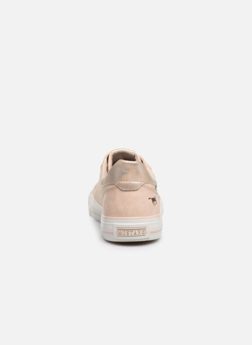 Trainers Mustang shoes Hosna Beige view from the right