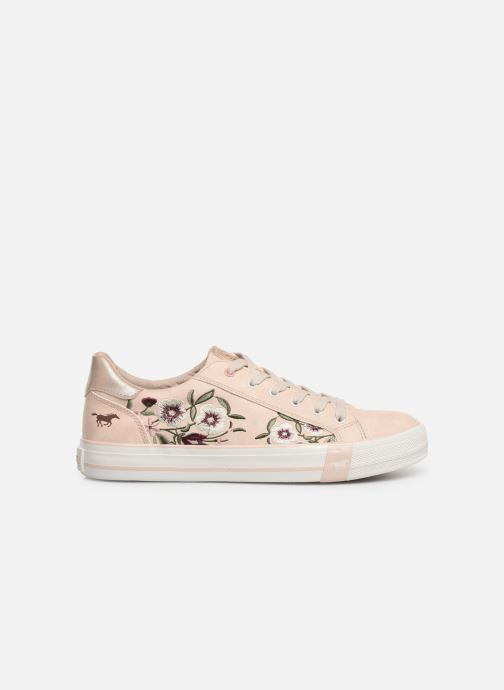 Trainers Mustang shoes Hosna Beige back view