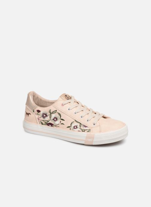 Trainers Mustang shoes Hosna Beige detailed view/ Pair view
