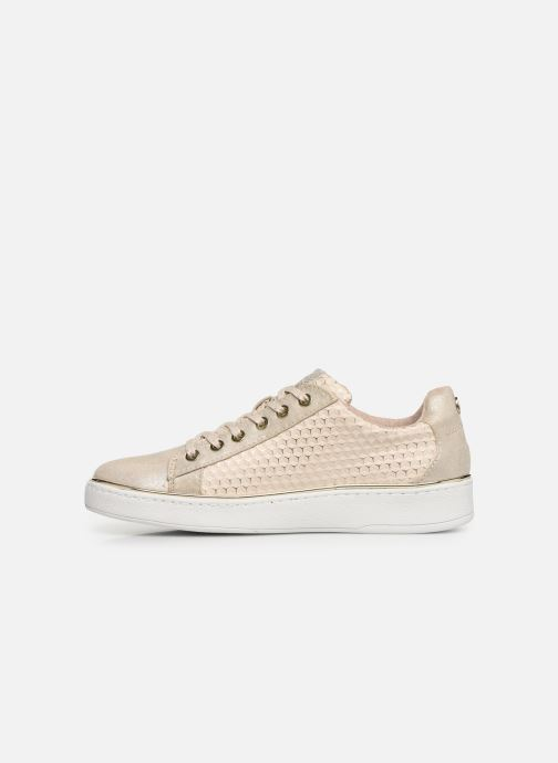 Baskets Mustang shoes Nayla Beige vue face