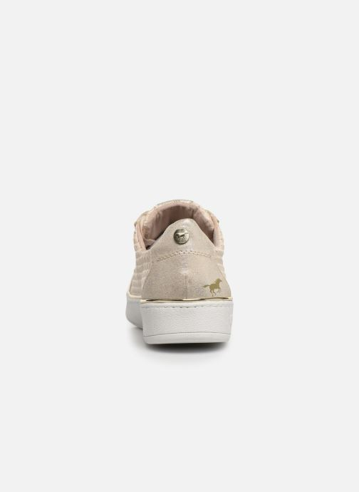 Baskets Mustang shoes Nayla Beige vue droite