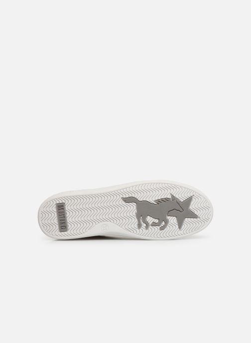 Baskets Mustang shoes Nayla Beige vue haut