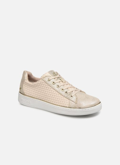 Baskets Mustang shoes Nayla Beige vue détail/paire