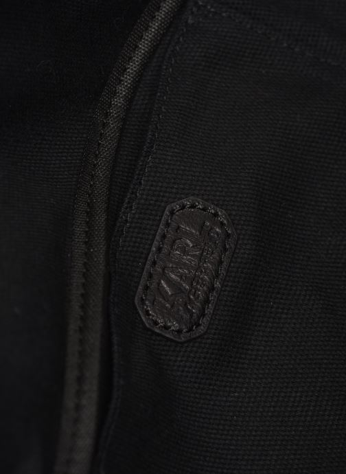 Kleine lederwaren KARL LAGERFELD KALIFORNIA BUMBAG Zwart achterkant