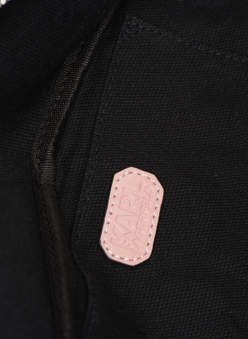 Kleine lederwaren KARL LAGERFELD KALIFORNIA BUMBAG Roze achterkant