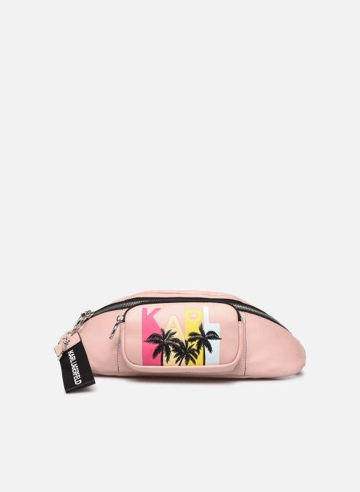 Kleine lederwaren Karl Lagerfeld KALIFORNIA BUMBAG Roze detail