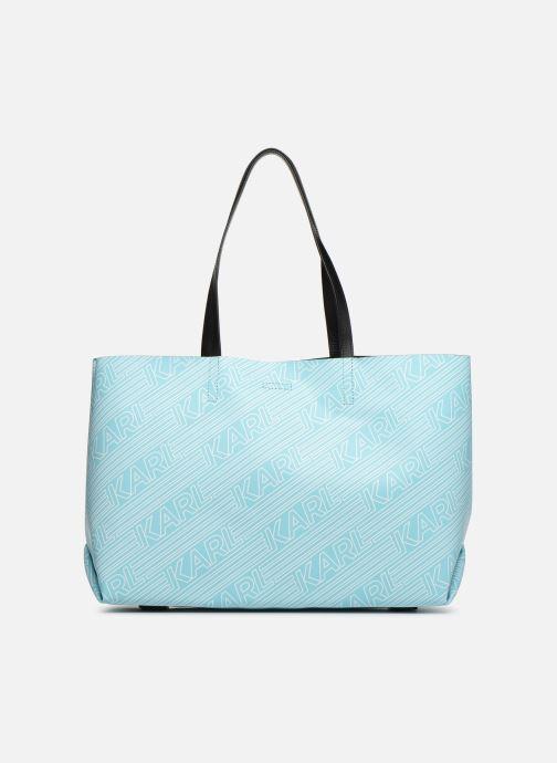 Handtaschen KARL LAGERFELD KALIFORNIA SHOPPER blau ansicht von vorne