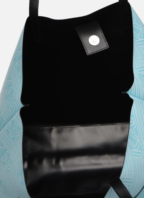 Handväskor KARL LAGERFELD KALIFORNIA SHOPPER Blå bild från baksidan