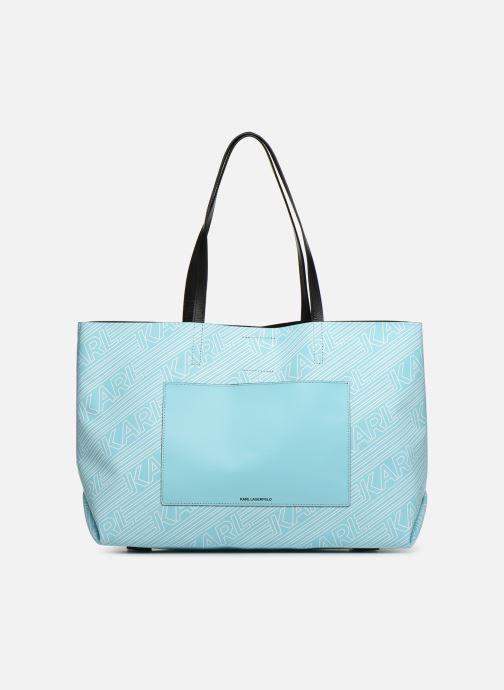 Handväskor KARL LAGERFELD KALIFORNIA SHOPPER Blå detaljerad bild på paret