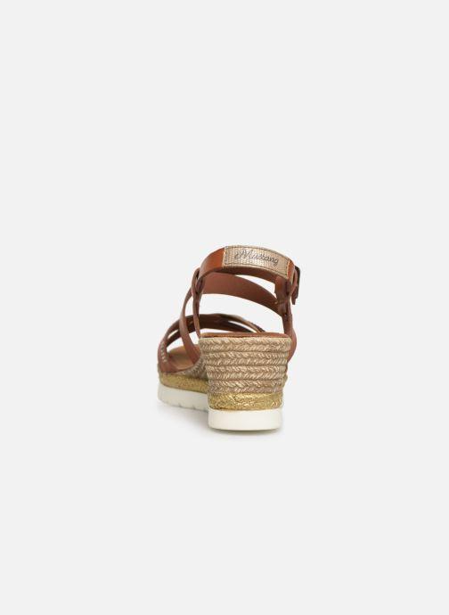 Sandales et nu-pieds Mustang shoes Cleya Marron vue droite