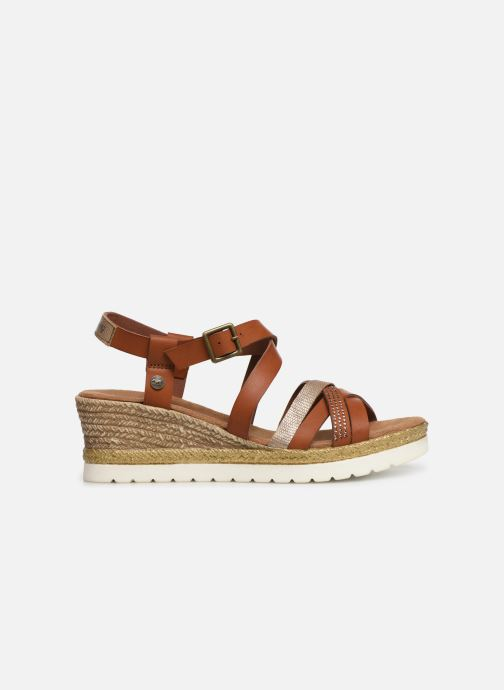 Sandales et nu-pieds Mustang shoes Cleya Marron vue derrière