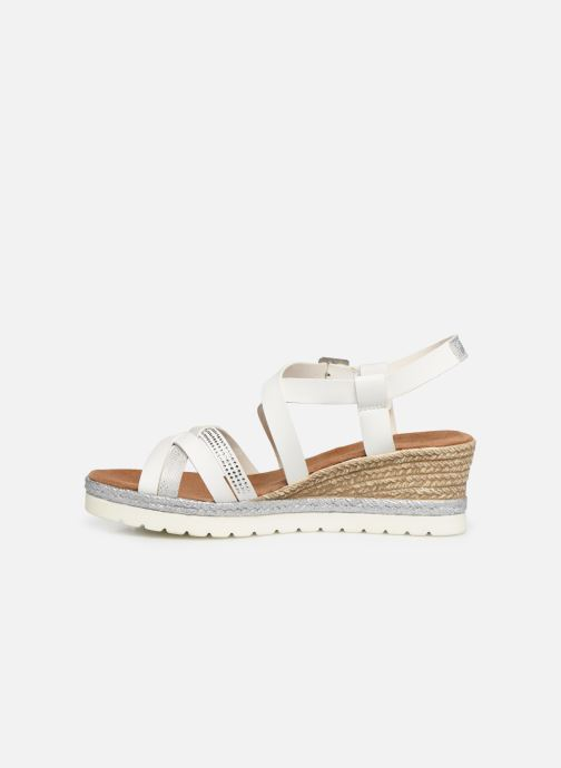 Sandales et nu-pieds Mustang shoes Cleya Blanc vue face