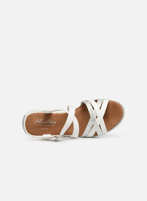 Sandales et nu-pieds Mustang shoes Cleya Blanc vue gauche