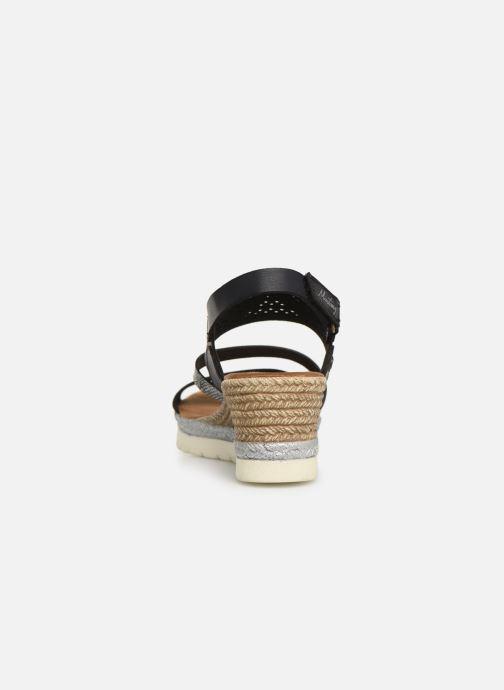 Sandales et nu-pieds Mustang shoes Kalya Noir vue droite