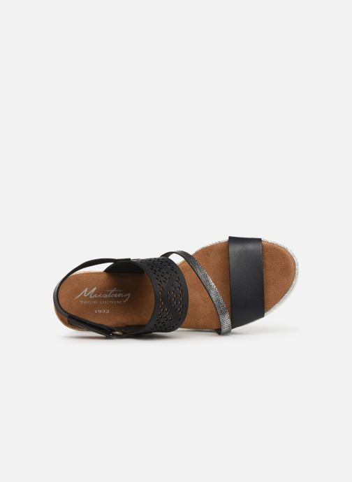 Sandales et nu-pieds Mustang shoes Kalya Noir vue gauche