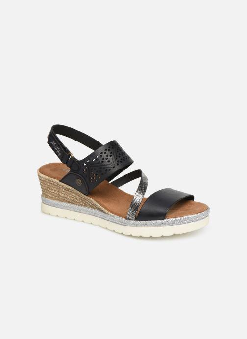 Sandales et nu-pieds Mustang shoes Kalya Noir vue détail/paire
