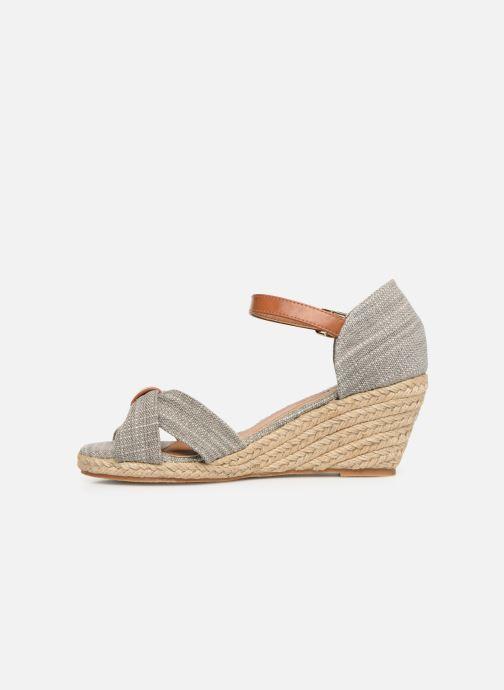 Sandales et nu-pieds Mustang shoes Nahia Gris vue face