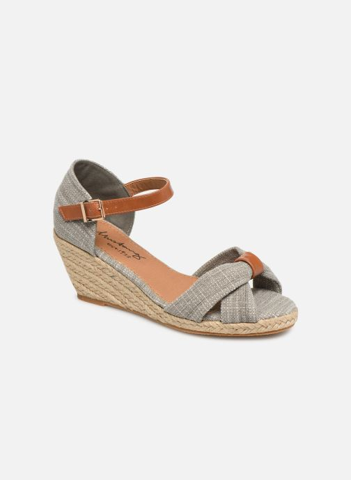 Sandales et nu-pieds Mustang shoes Nahia Gris vue détail/paire