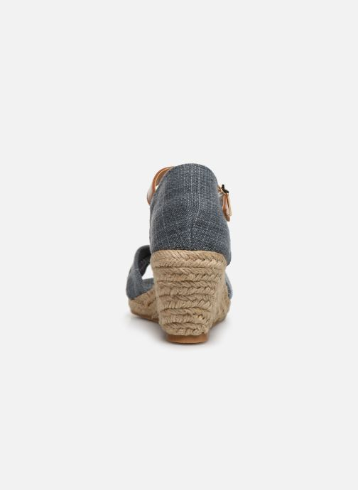 Sandales et nu-pieds Mustang shoes Nahia Bleu vue droite