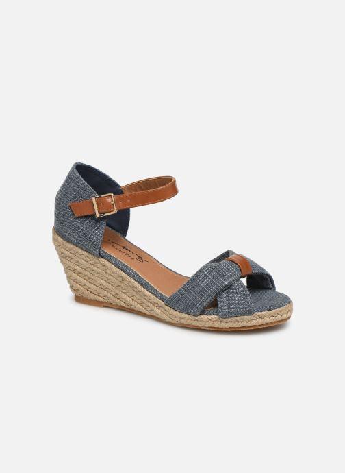 Sandales et nu-pieds Mustang shoes Nahia Bleu vue détail/paire
