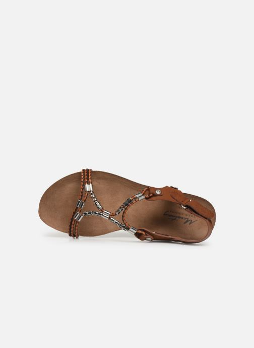 Sandalen Mustang shoes Tylane Bruin links